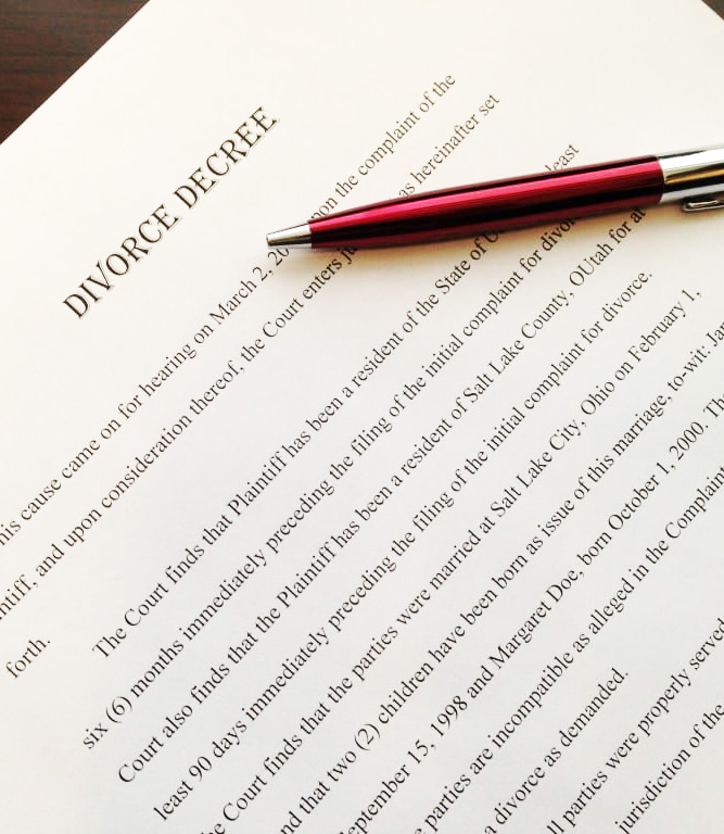 Divorce-Decree-Utah-Family-Law-Attorney-Salt-Lake-City-84106